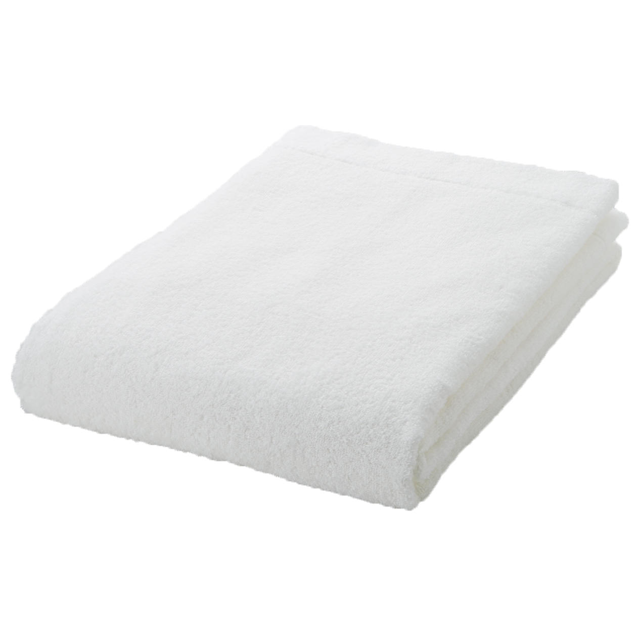 off white thin Bath towel