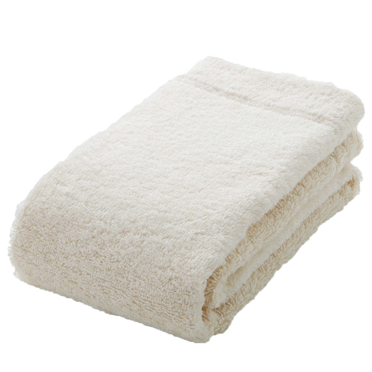 ecru medium face towel