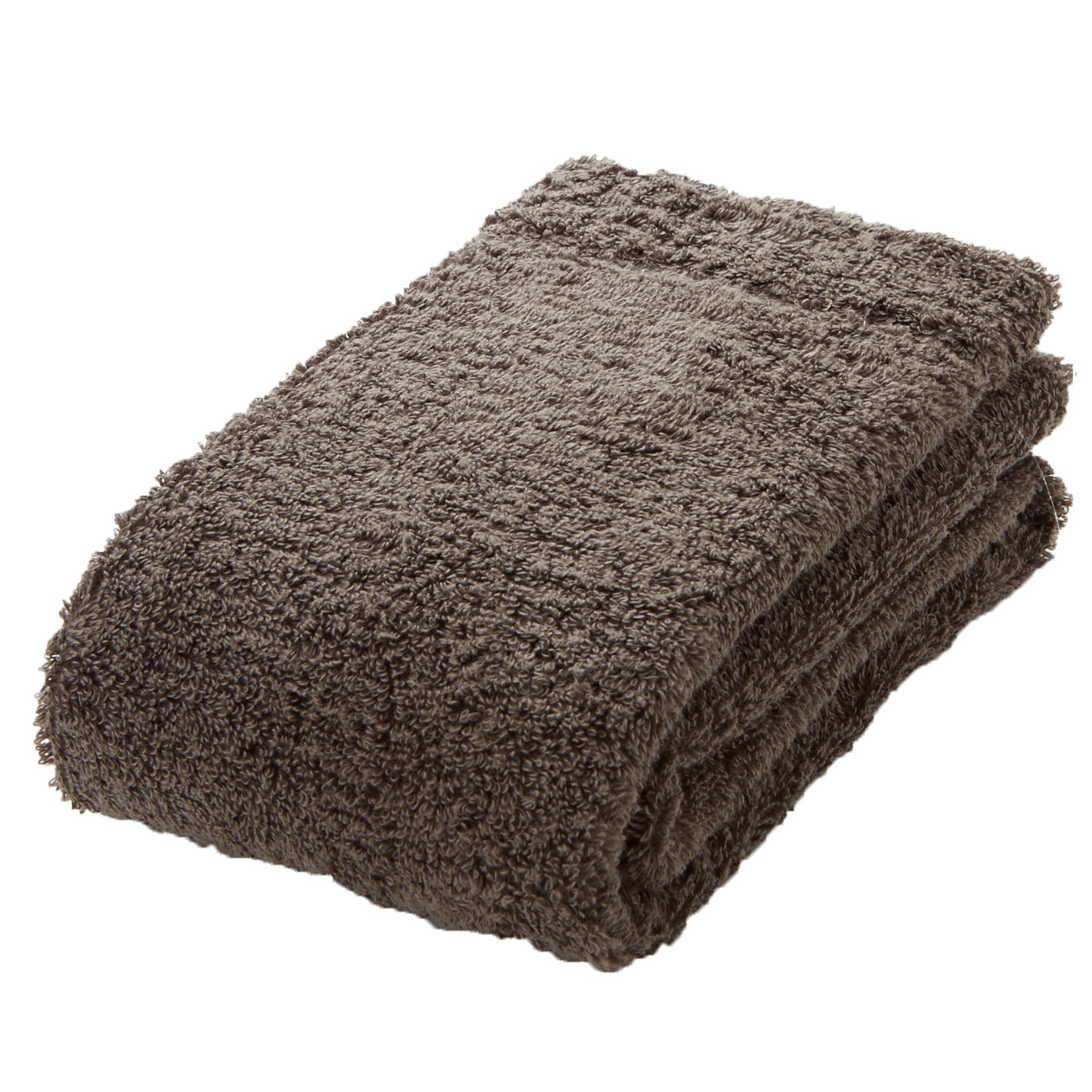 brown medium face towel
