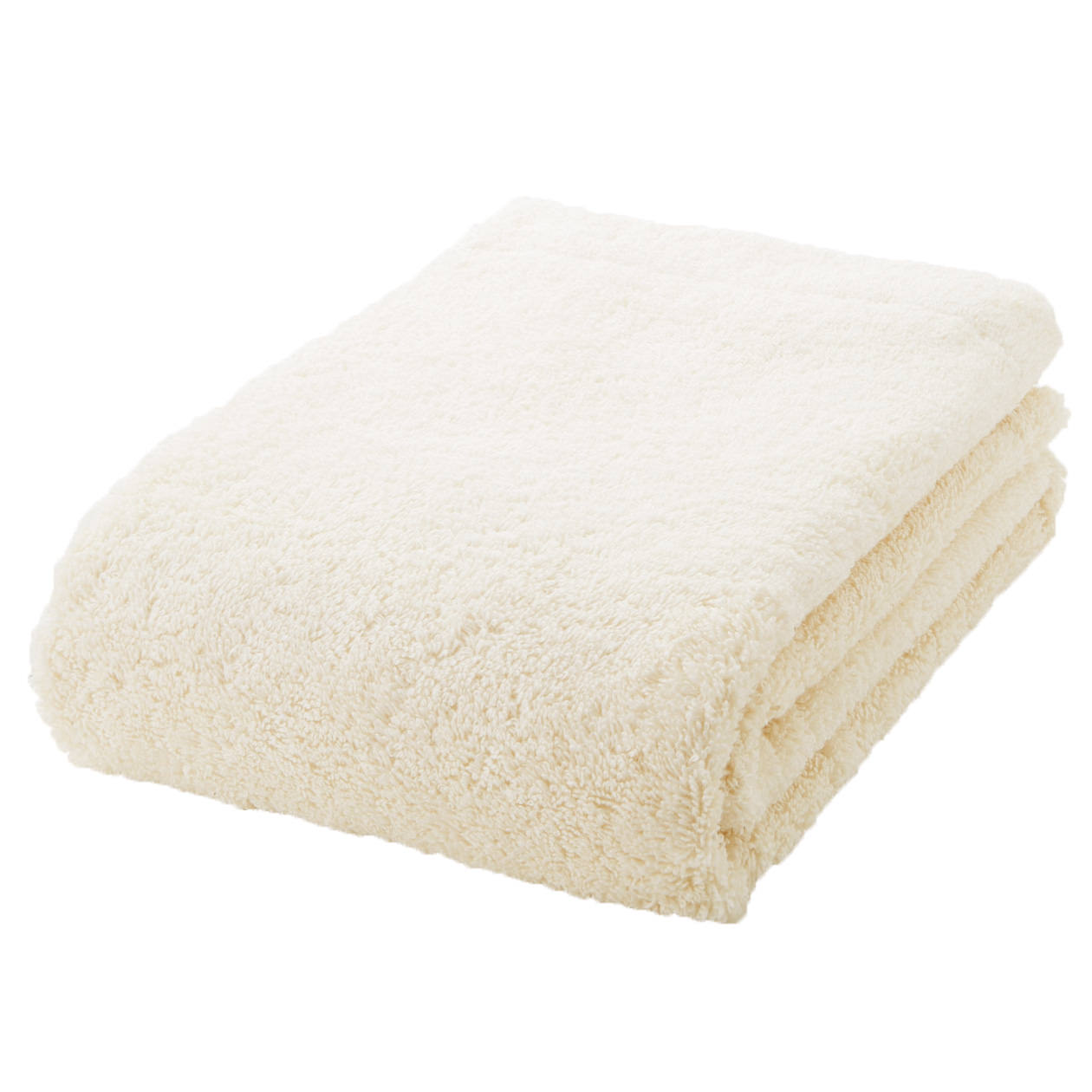 ecru thick bath towel S