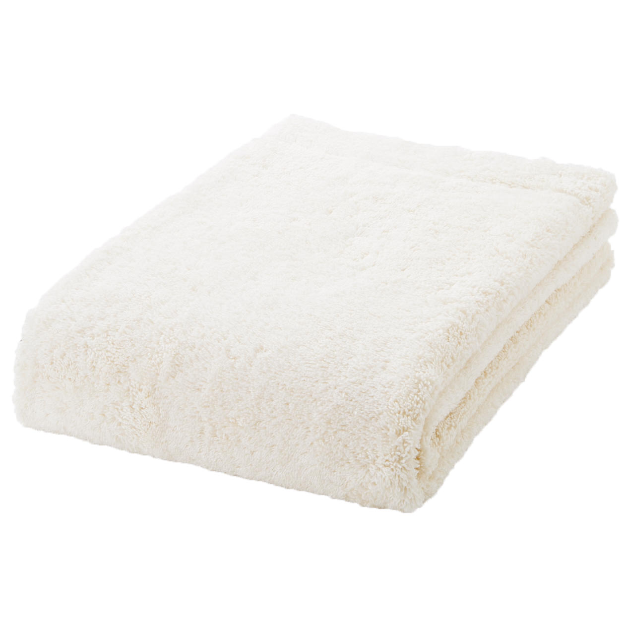 ecru thick bath towel