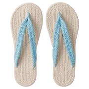 *indian Ct Room Sandal L Ecruxblu S17