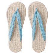 *indian Ct Room Sandal Xl Ecruxblu S17