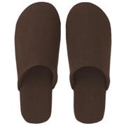 Ct Plain Weave Soft Slipper L Brn A17