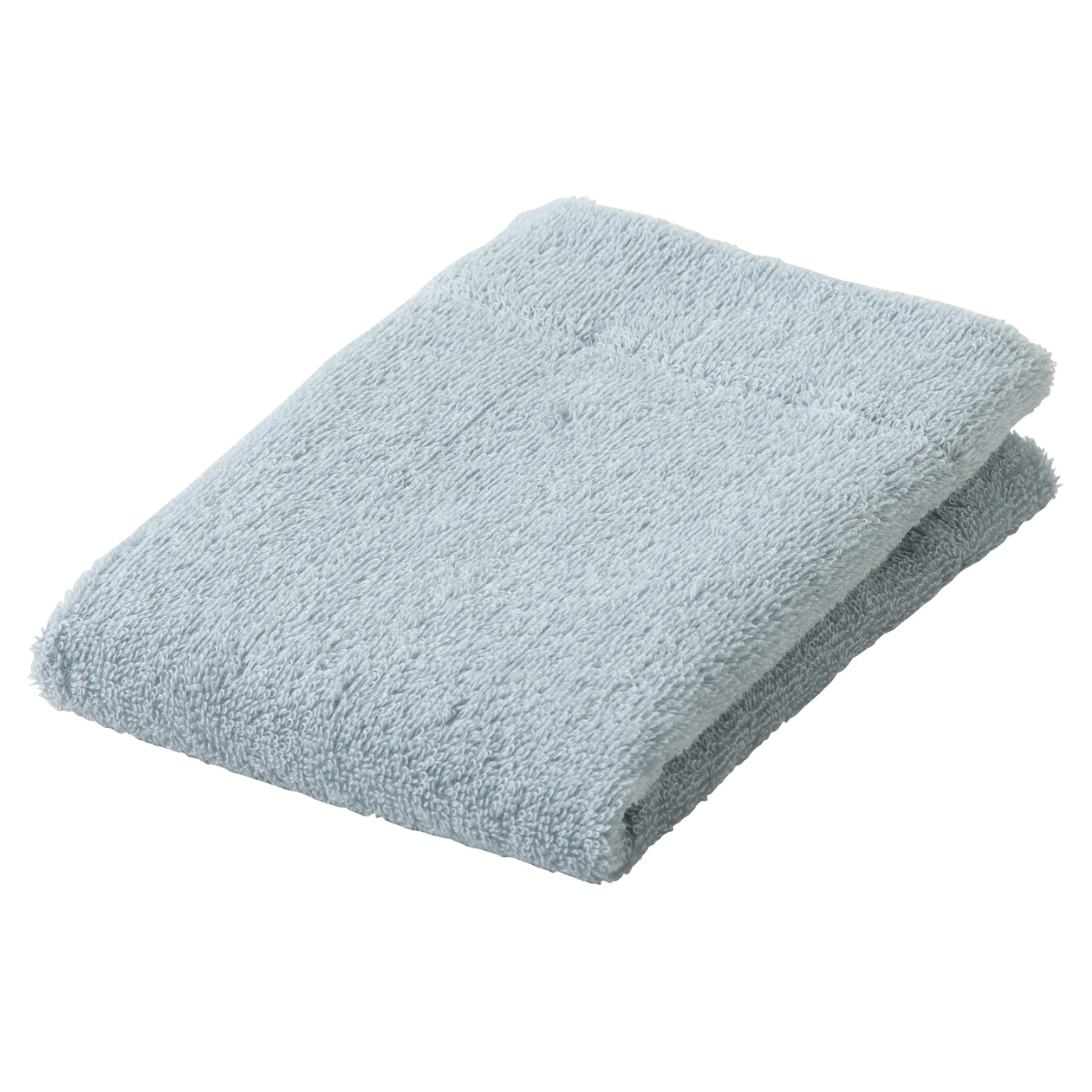 light blue thin Hand towel
