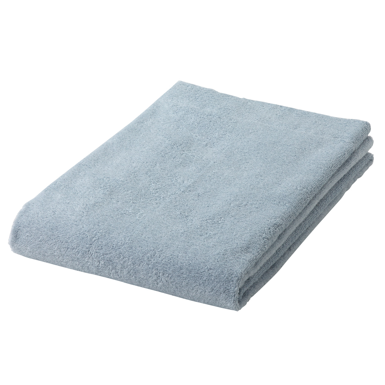 light blue thin Bathtowel