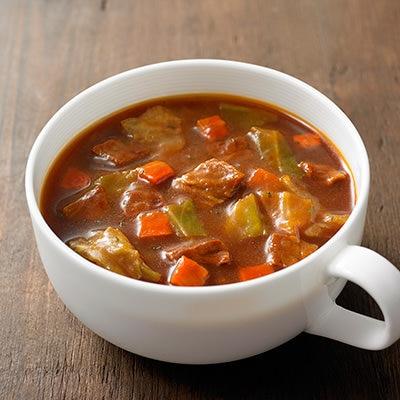 食べるスープ 牛肉とキャベツのシチュー