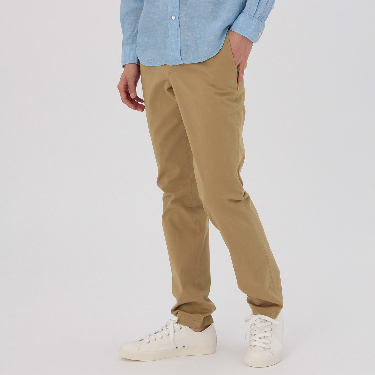 OGC STRETCH CHINO SLIM TROUSERS