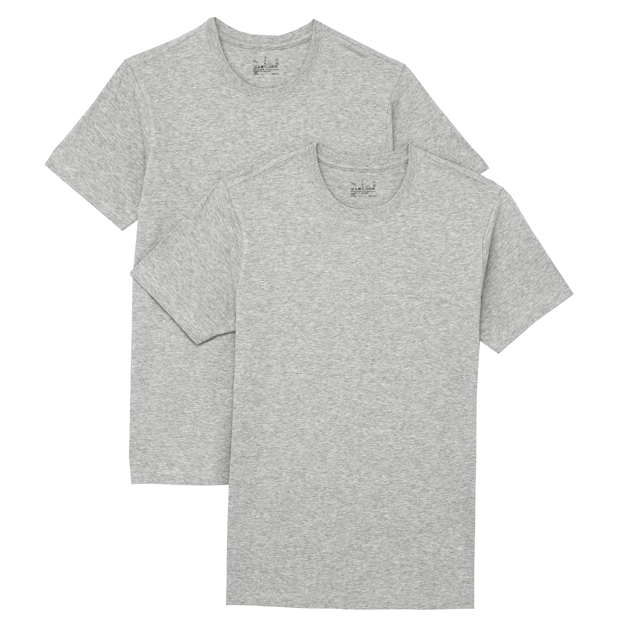 Men 2 pieces Crew neck T-shirt