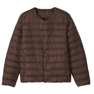 Lightweight Australian Down Pocketable Collarless Jacket