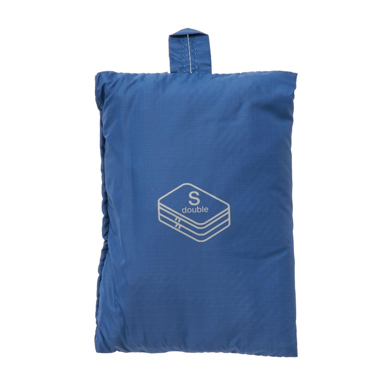 [무인양품] 패러글라이더 크로스 폴더블 케이스・더블 타입・S (신)블루・약20×26×10cm MUJI 일본 공식스토어