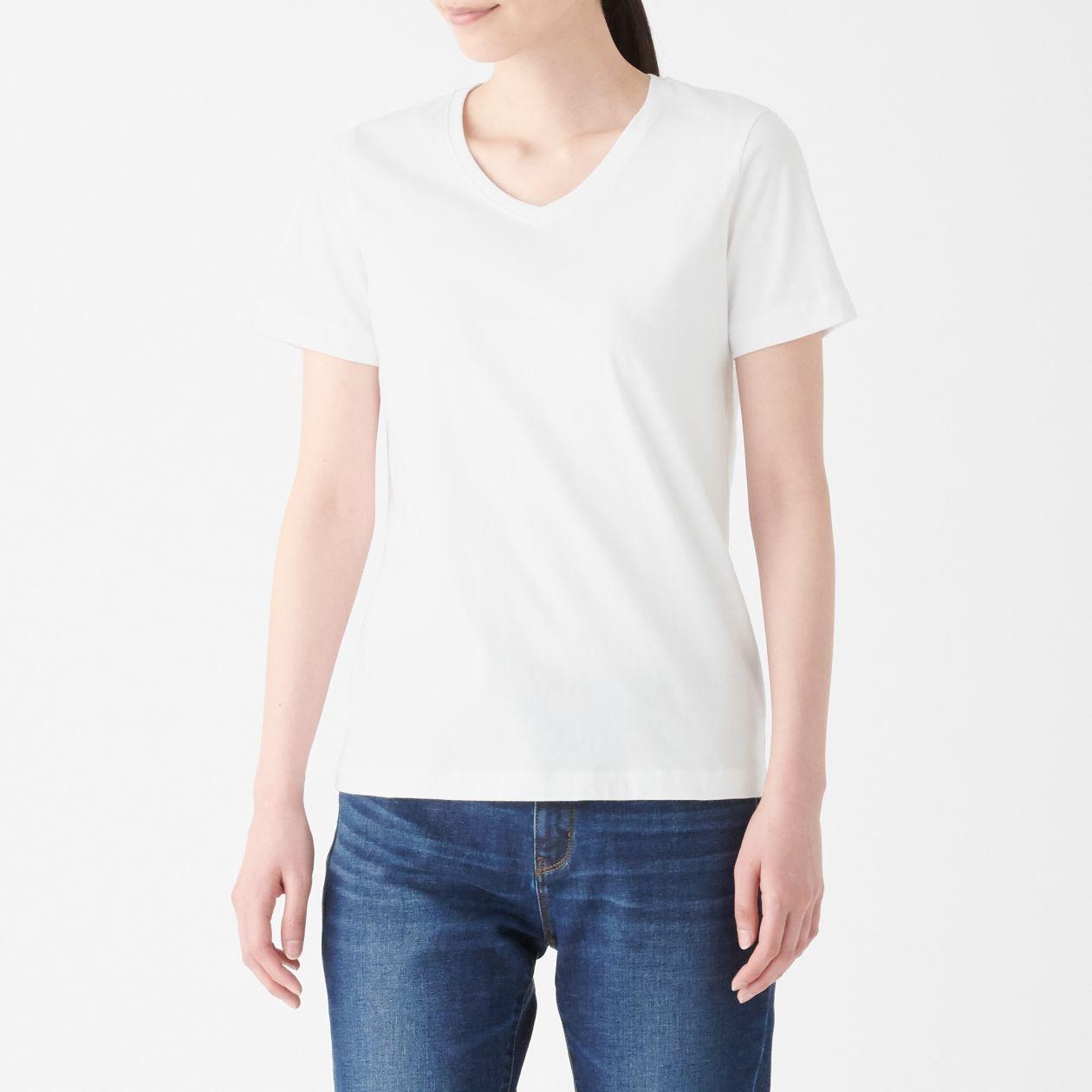 OGC V NECK S/S T SHIRT (WHITE)
