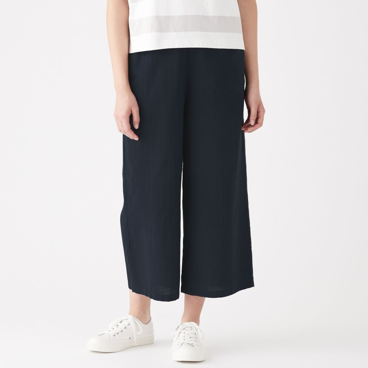 INDIAN HAND SPUN/WOVEN EASY WIDE TROUSERS