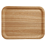 Wooden Tray Ash 46x35cm