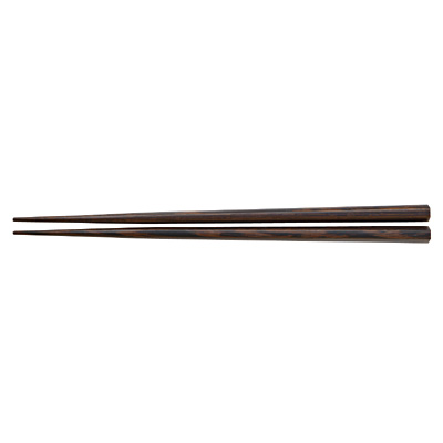 ウェンジ 六角箸 21cm