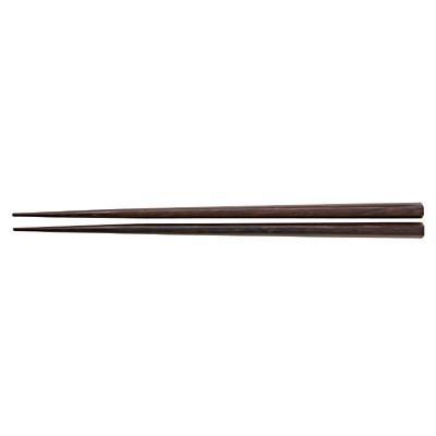 ウェンジ 六角箸 23cm