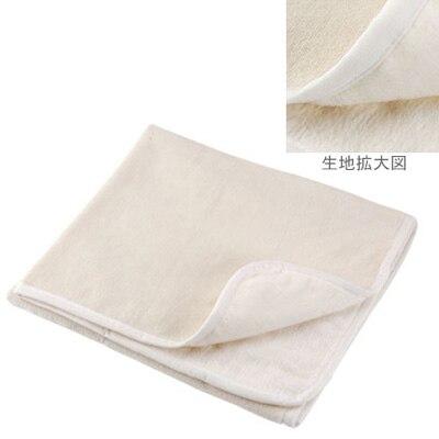 洗えるベビー用綿毛布 85×115cm