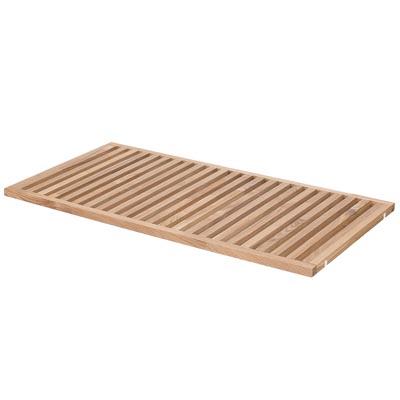組み合わせて使える木製収納用すのこ棚板・奥行40cm用 幅75.5×奥行38.5×厚み2.5cm