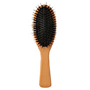 *hair Care Brush W/wood Handle