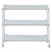 Sus Steel Shelf Set Mini Gray