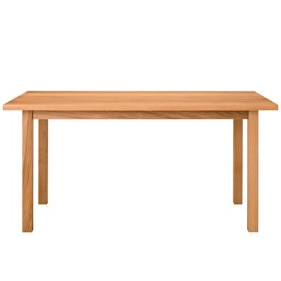 【店舗限定】オーク無垢材ダイニングテーブル・長方形3 R幅150×奥行80×高さ72cm