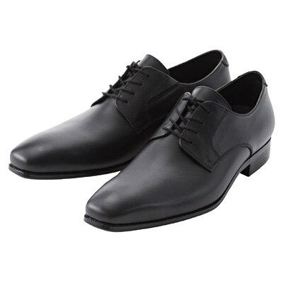 プレーントゥ革靴 紳士・26.0cm・黒