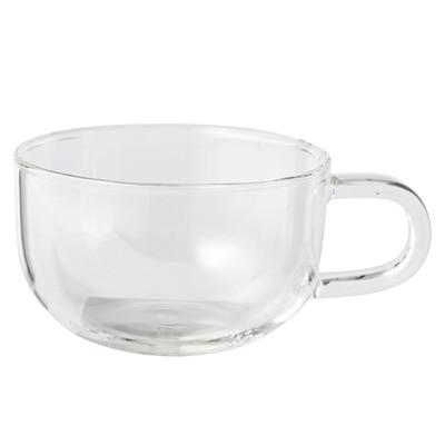 耐熱ガラス ティーカップ 約250ml