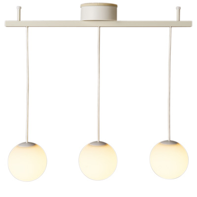 LEDシリコーンペンダントライト3灯タイプ ハイパワーLED2.3W×2灯 3灯