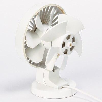 USBデスクファン(低騒音ファン)・ホワイト