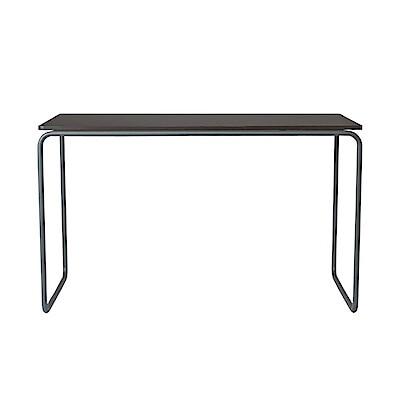 stahlrohr schreibtisch dunkelgrau l muji online store. Black Bedroom Furniture Sets. Home Design Ideas
