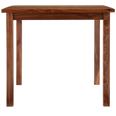 無垢材テーブル・2・ウォールナット材 幅80×奥行80×高さ72cm