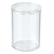 Acrylic Pot W/lid
