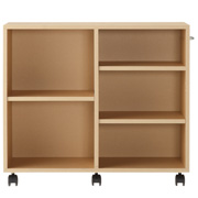 Pulp Board Box W/caster Bg