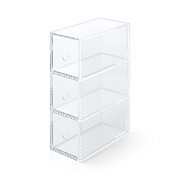 ACRYLIC 3 DRAWER UNIT