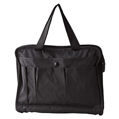 ナイロンタフタバッグインバッグ B6サイズ・黒