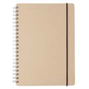 W Ring Dot Grid Notebook W Recycled Paper Bg A5 70s