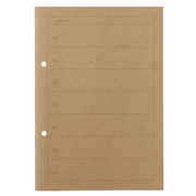 Planting Tree Paper Combination Notebook A5 Weekly 32s