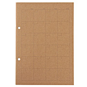 Planting Tree Paper Combination Notebook A5 Mthly 32s