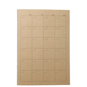 Craft Note Book Monthly A5 32s