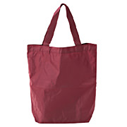 Polyester Tote Bag Dark Red