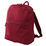 Water Repellent Polyester Rucksack Dark Red