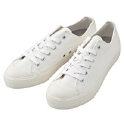 Water Rep Cotton Sneakers Off White 25.5cm
