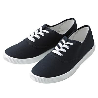 有機棉休閒鞋暗藍M‧25.5~26.0cm
