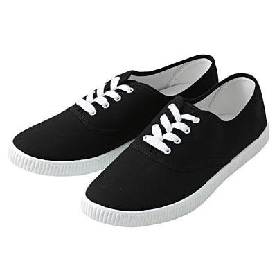 有機棉休閒鞋黑色M‧25.5~26.0cm