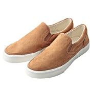 Brushed Slip-on Shoes (ladies) Camel S