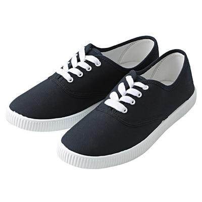 有機棉休閒鞋暗藍L‧24.5~25.0cm