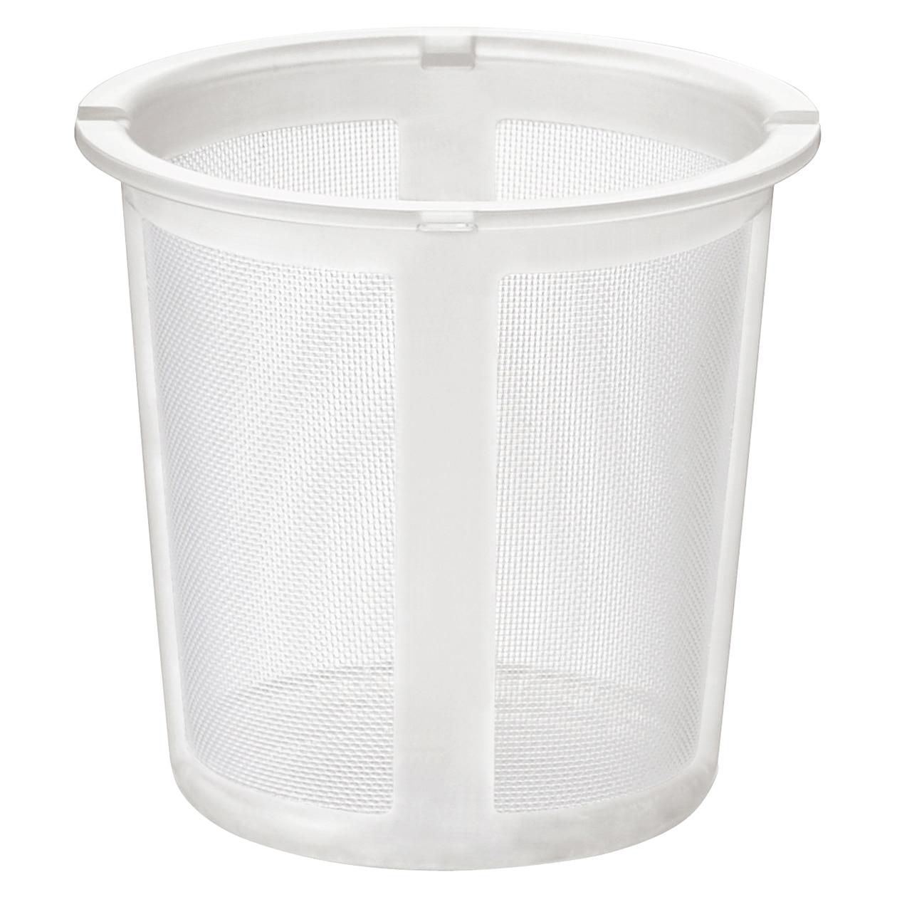 【パーツ】耐熱ガラスポット・マグ用 プラスチックストレーナー 約直径8.5×高さ8cm | 無印良品ネットストア