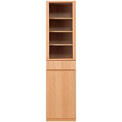 木製カップボード・スリム/タモ材・ナチュラル