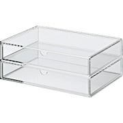 Acrylic Case W/drawer 2rows L