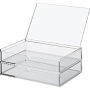 Acrylic Case W/lid 2rows L